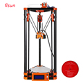 2016 New Diy Mini 3d Printer Kits Kossel Delta Printer 3d With Heated Bed and Switch