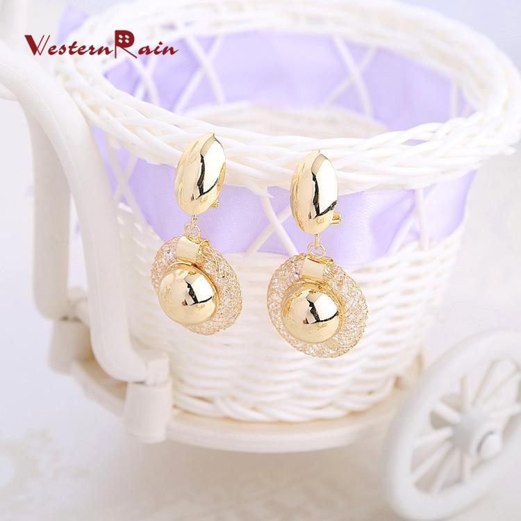 מתנת חג המולד!!!2013 עיצוב חדש מצופה זהב שרשרת צמיד Eerrings&טבעת שמלת כלה אביזרי תכשיטים סטים ,A201