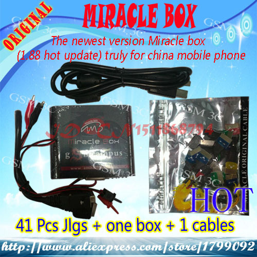 100% original Miracle box hot update truly for china mobile phone without retail package(No activation CDMA PACK1)(China (Mainland))