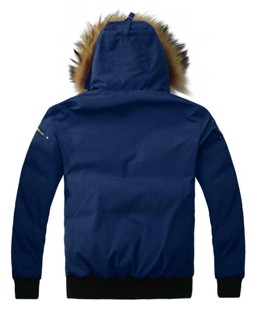 2014 Alaska mens winter jackets and coats down coat jacket Navy wholesale free shipping