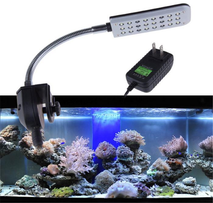 LED Aquarium Light 48LED Aquarium Led Lighting Decoration Fish Tank ...