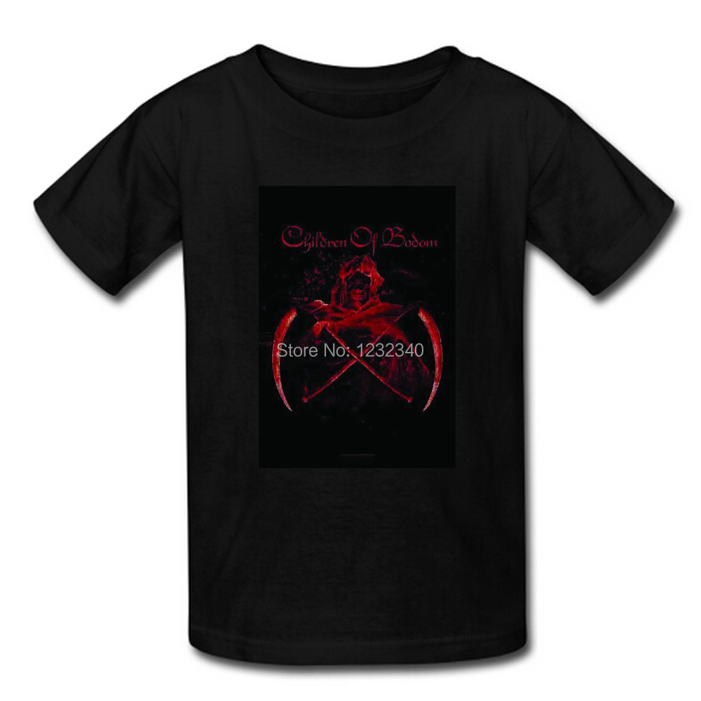 Children of Bodom Theme T Shirt Custom Men's New Cotton T Shirts Free Shipping(China (Mainland))