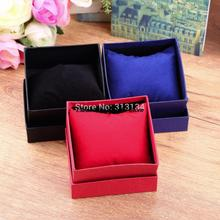 1pcs Practical Jewelry Box Present Gift Boxes for Bracelet Bangle Necklace Earrings Watch Case with Foam Pad Drop Shipping Hot