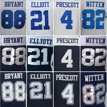 WOMen's elite jersey 4 Dak 21 EZEKIEL 88 DEZ 82 JASON 22 EMMITT 9 TONY 12 ROGER BLUE WHIT(China (Mainland))