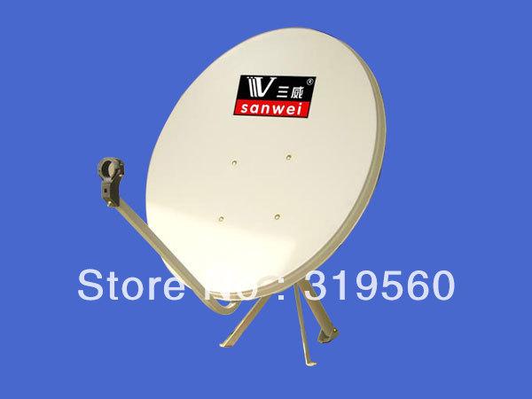 KU band satellite antenna/ satellite dish 90CM/ steel panel/wall mount KU-90(China (Mainland))