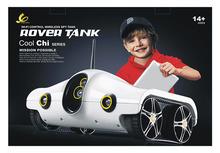Rover2.0spy tank Brookstone Apple's Android remote video spy tank Free shipping(China (Mainland))