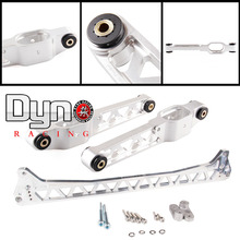 DYNO -  FOR FUNCTION 7 F7 silver Rear Lower Control Arms  + Subframe Brace For (92-95 For Civic / Del Sol) EG silver color(China (Mainland))