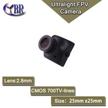 25x25mm Mini FPV Cam 700tvl Cctv Video Security Camera Micro Fpv Camera 2.8mm Pinhole Lens For RC Quadcopter Drone Wide Angel