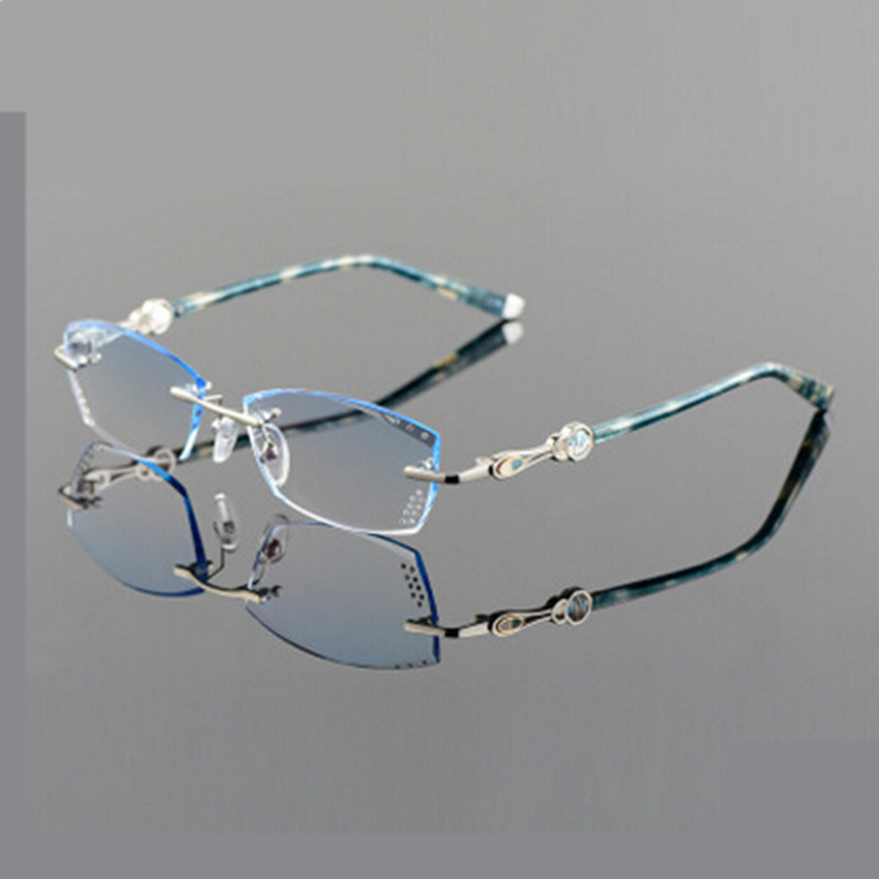 Rimless Glasses Lightweight : 2016 New Freeshipping Solid Eyeglass Frames Myopia Glasses ...