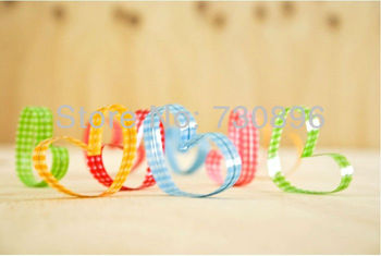 Free Shipping!  Colorful  Gingham Metallic Twist Tie  Sealing Wire For Bakery/Candy/GiftPacking12 x 0.8cm 1000pcs/lot