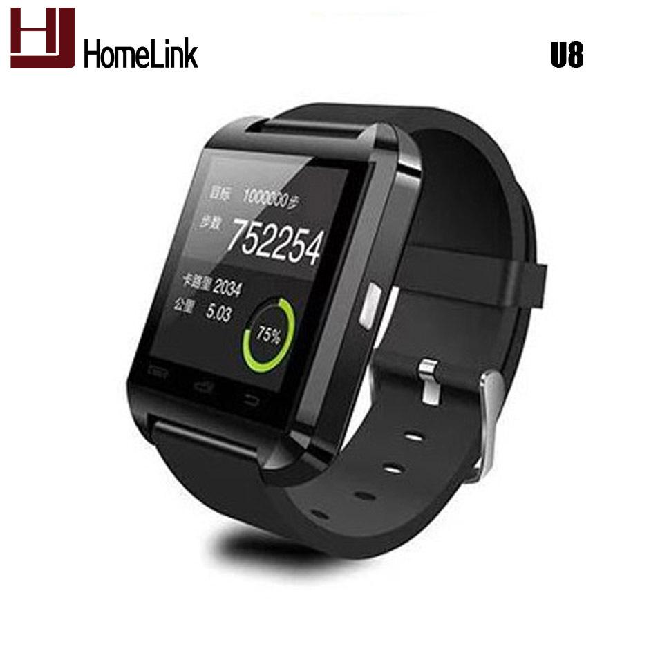 Bluetooth Smart Watch WristWatch U8 U Watch for Samsung S4/Note 2/Note 3 HTC LG Huawei Xiaomi Android Phone Smartphones 2015 Hot(China (Mainland))