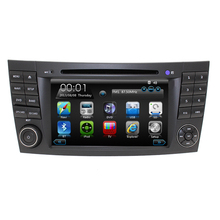 Two Din 7 Inch Car DVD Player For Mercedes/Benz/E-Class/W211/E300/CLK/W209/CLS/W219/G-Class/W463 Canbus Radio GPS BT iPod Map