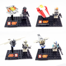 Star Wars Minifigures Clone Trooper Commander Bricks Toys - Time Machine Co.,Ltd store