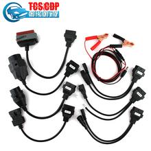2016 New arrival TCS Diagnostic tool full set  tcs car cables TCS  8 car cables OBD2 Car Adapters(China (Mainland))