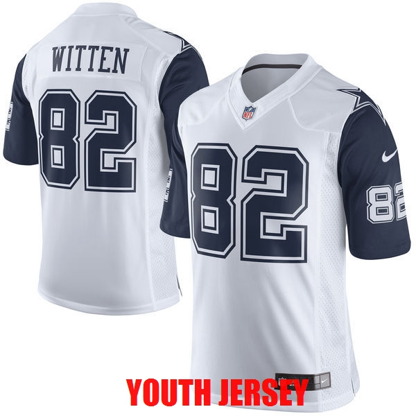 100% stitched.Top quality Dallas Cowboys Jason Witten Dez Bryant Sean Lee Lael Collins For YOUTH KIDS(China (Mainland))
