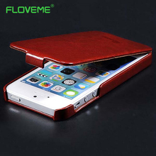 Buy FLOVEME iphone 4 4s Retro Luxury Vertical Flip Phone Case Apple 4 4S 4G Leather Cover Fashion Deluxe Black Brown Bag for $3.39 in AliExpress store