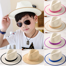 spring and summer infants Korean boys and girls baby hat summer sun hat Fisherman hat edging beach hat visor baby beanies cap