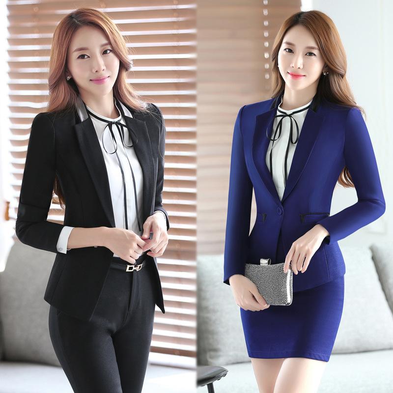 uniformes de oficina para las mujeres al por mayor de alta