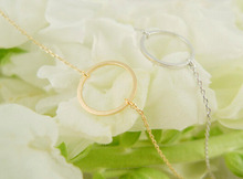 Circle Pendants Necklace Eternity Necklace Karma Infinity Silver Gold Minimalist Jewelry Necklace Dainty Forever Circle Gift