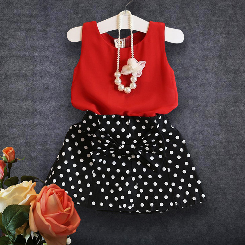 2016 New Summer Casual Girls Clothing Sets Bow Baby Girl Clothes Short Coat + Tutu Skirt Suit Children Clothing Set<br><br>Aliexpress