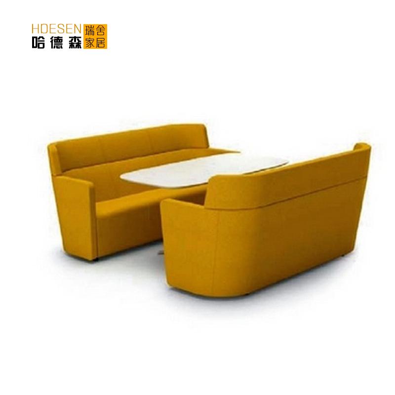 Rui Sheka double seater sofa dining furniture leather sofa stylish simplicity creative office(China (Mainland))