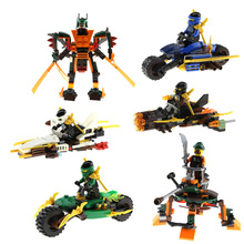 Minifigures Ninja Kids Building Blocks Toy Figures Gifts Cole Kai Jay Lloyd Nya Skylor Zane Pythor Chen - Corn Store store