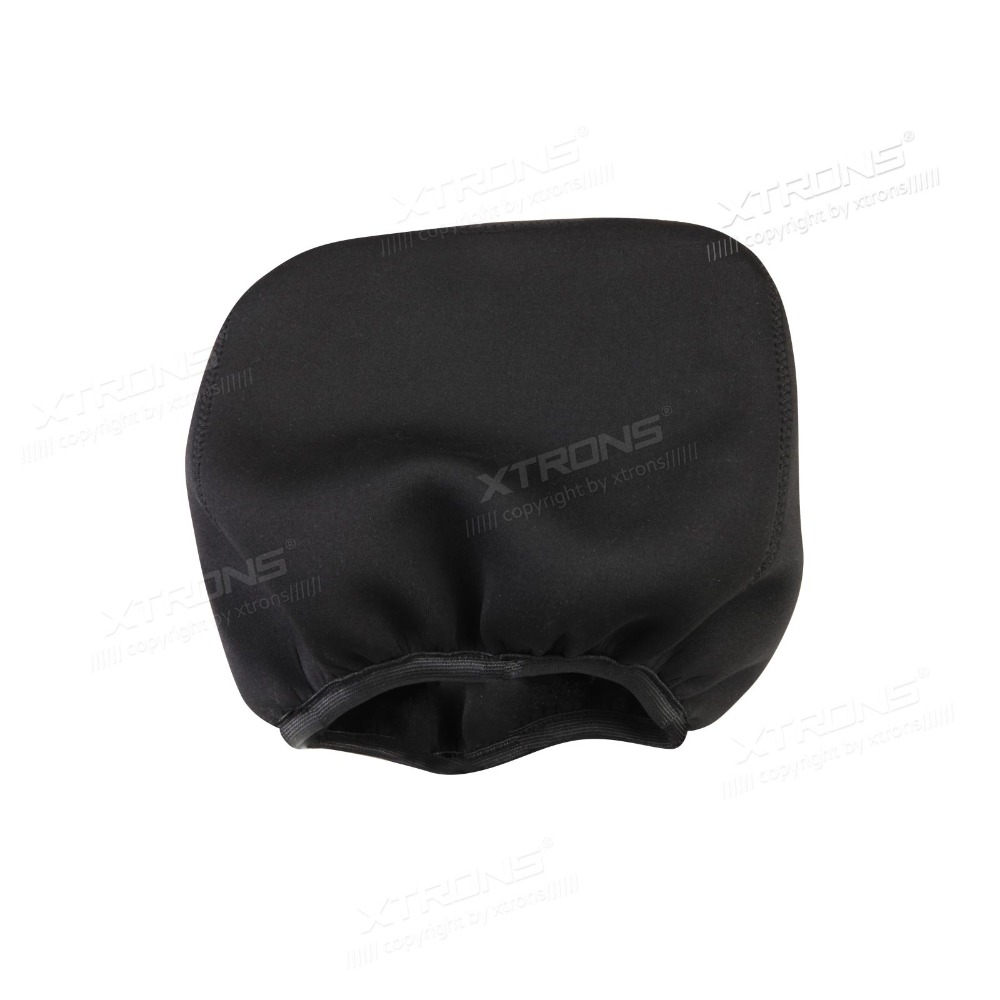 Pair of Universal Headrest Covers for Most Standard Size Car Headrests & Also Special for Xtrons Headrest Car DVD HD728 & HD728D(China (Mainland))