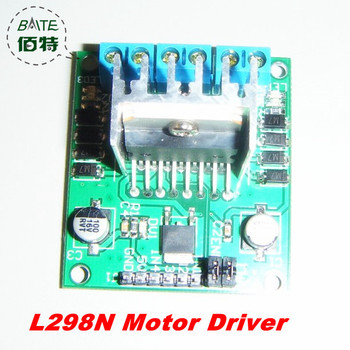 Wholesale 10pcs/ lot L298 Module L298N Dual Bridge DC stepper Controller Control Motor Driver module Board