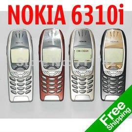 Refurbished Nokia 6310i Mobile Phone 2G GSM Tri-band Unlocked Bluetooth Nokia Phone Free Shipping(China (Mainland))