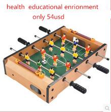 Children's table football Mini desktop table 4 bar  interactive toys(Hong Kong)