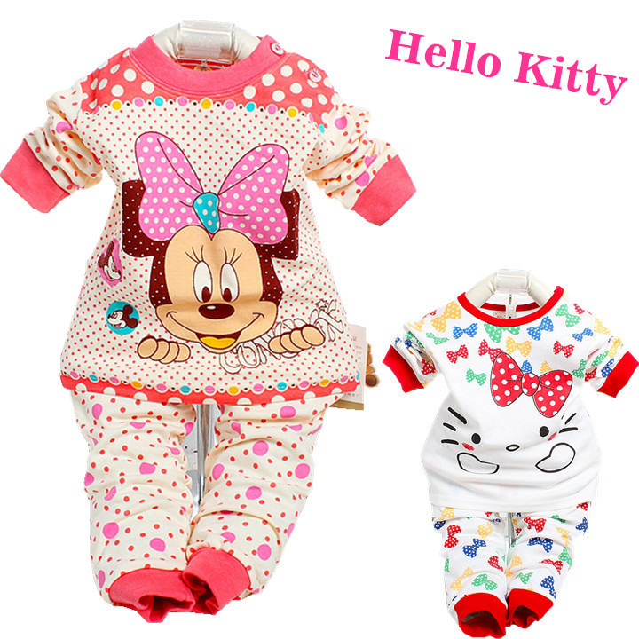 Hello Kitty Baby Gift Sets : Cotton hello kitty baby clothing set toddler christmas