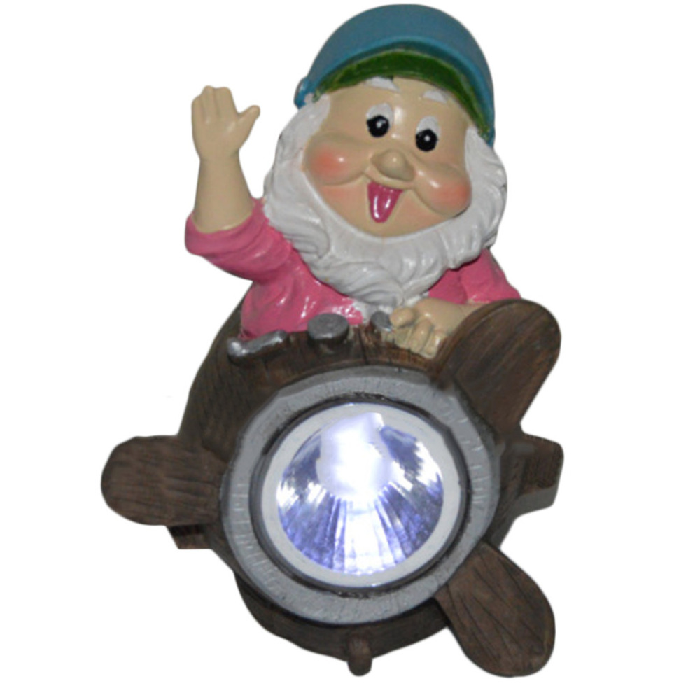2016 novelty Outdoor Solar Powered Dwarf Path LED for Brighter Light Output Garden Decor Yard Landscape Lamp(China (Mainland))
