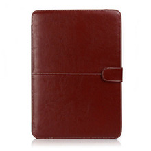 Fashion Laptop Shell Cover Bag For Macbook Pro retina 13 PU Leather Case Sleeve(China (Mainland))