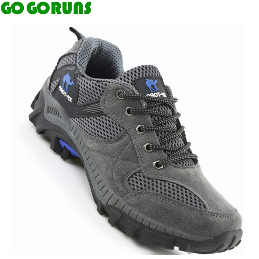 outdoor sport hiking shoes men sneakers trekking trail hunting leather mountaineering outventure shoes boots zapatos senderismo(China (Mainland))