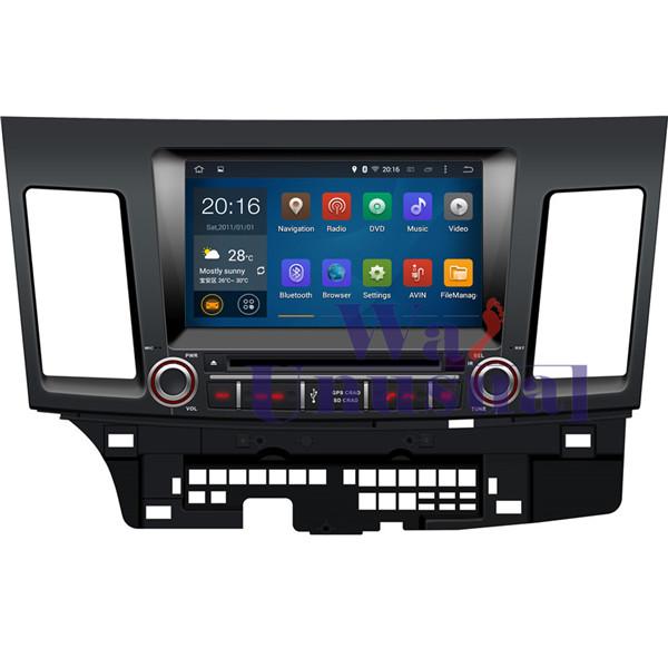 HD 8'' Pure Android 5.1.1 Car DVD Player for Mitsubishi Lancer EX 2007-(Indonesia, El Salvador, Panama, Thailand, Hong Kong)(China (Mainland))