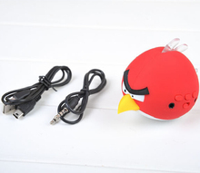 2015 Hot Free Birds Speakers USB Cartoon Mini Speaker Earson Audio Support TF Card for MP3/MP4/NOTEBOOK/PC/MD/IPOD(China (Mainland))