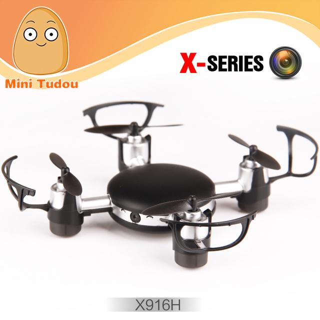 Minitudou Мини Квадрокоптер X916H 2.4 Г 4CH MJX RC Drone FPV Quadcopter С Камерой 0.3MP Летающий Вертолет Игрушка