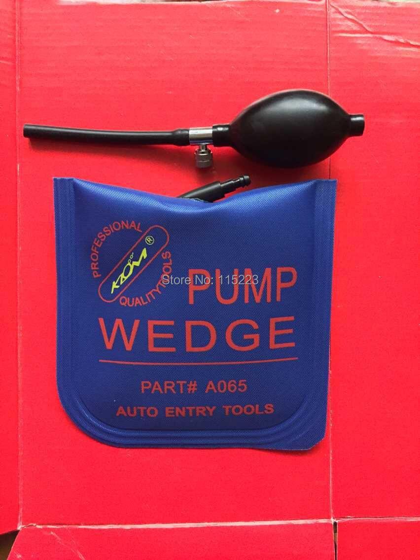 KLOM Medium Auto Air PUMP WEDGE Locksmith Tools Lock Pick Set Open Car Door Lock Airbag(China (Mainland))