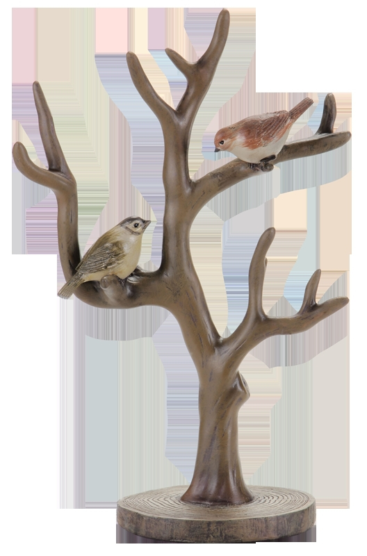 After doing the old European-style modern color tree bird jewelry holder of American furniture, home furnishings soft furnishing(China (Mainland))