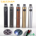 Trueman Evod Battery USB Passthrough Vacuum Coating Rechargeable 650 900 1100mah HAHA Battery