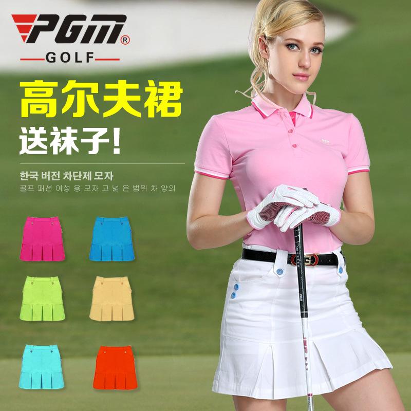 PGM Golf skirt woman sports clothing wholesale Korean Golf summer skirt pants(China (Mainland))