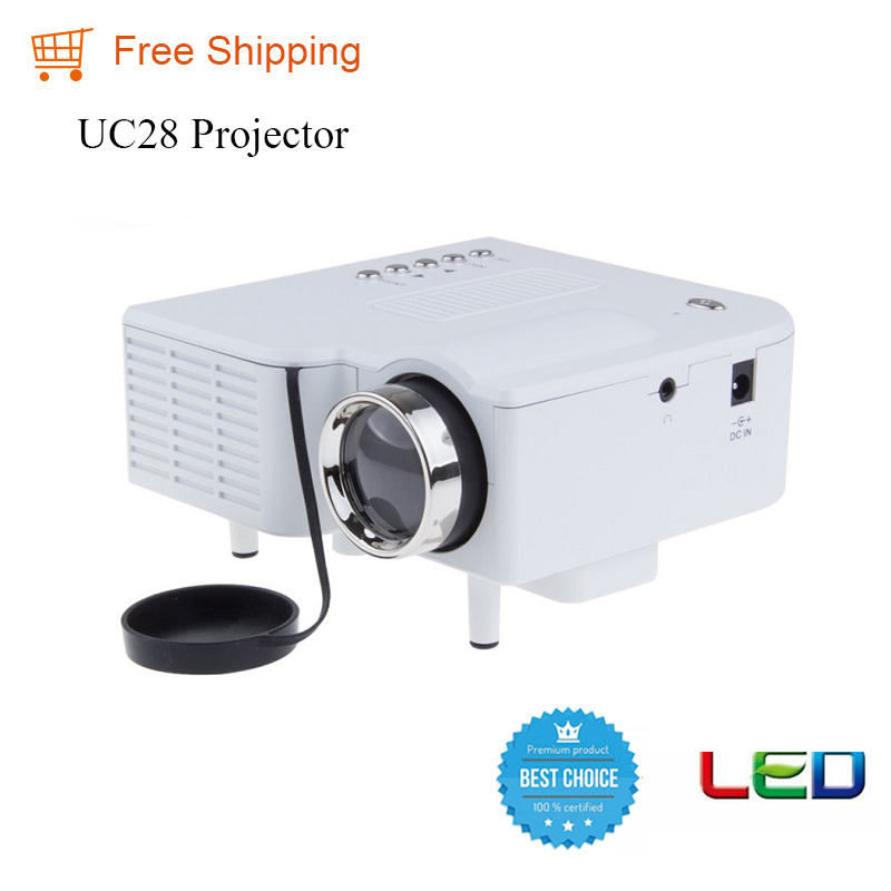 Uc28 hot sale 2016 free shipping home cinema mini pocket for Pocket movie projector
