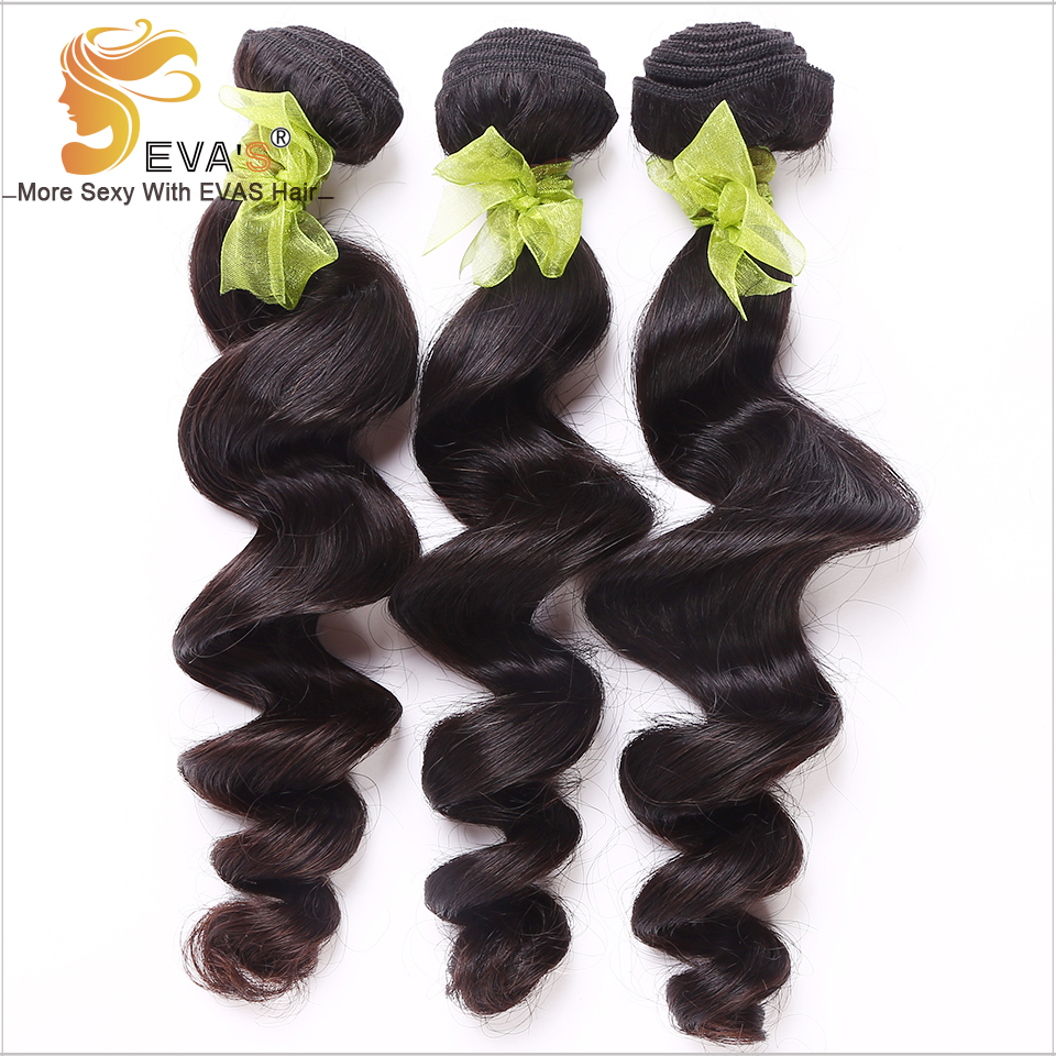 EVA'S hair product soft lot mixed length 12 inch-28 inch Brazilian Loose Wave Hair Weave - Products Co., Ltd store