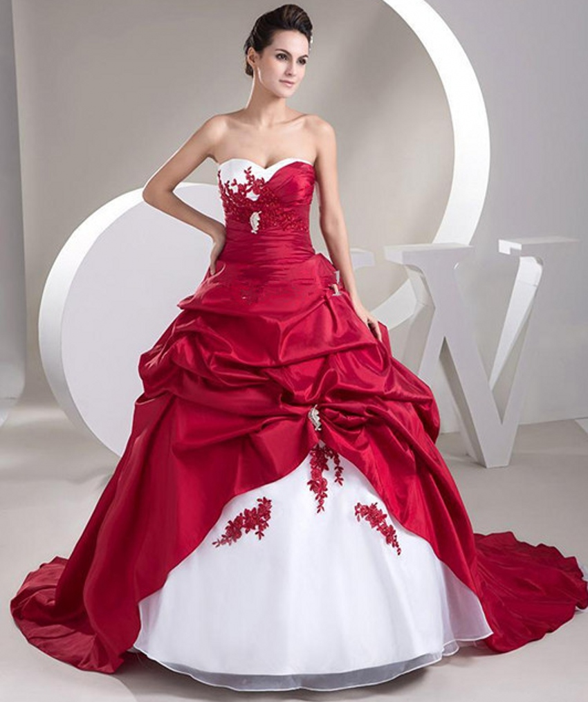 Buy sexy ball gown satin bride bridal for White wedding dress cheap