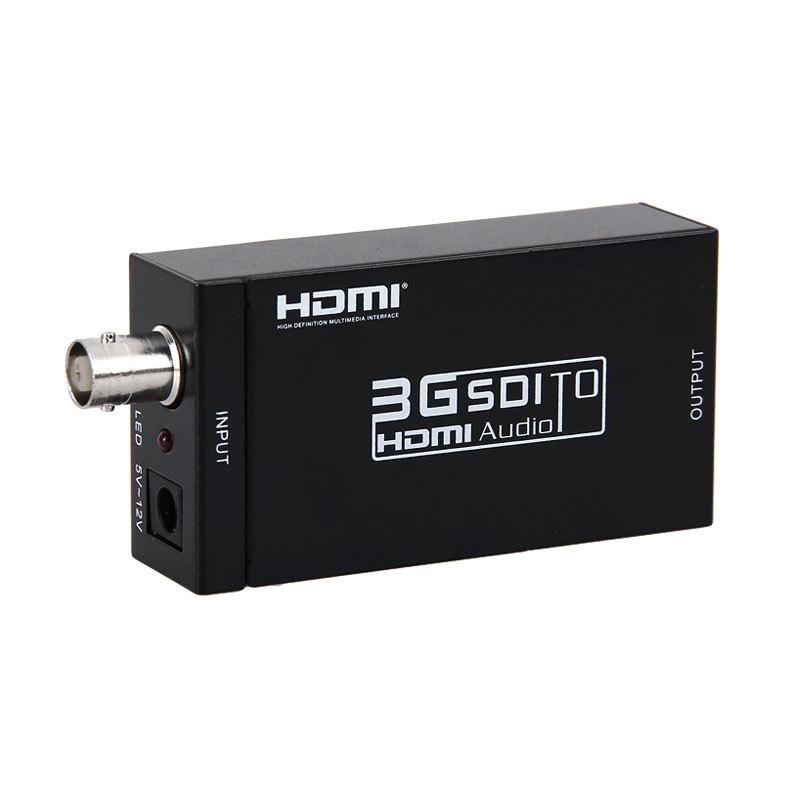 HDV-S008 Mini SD-SDI HD-SDI 3G-SDI to HDMI Converter 2.97Gbit Camera to TV Video distributor HDMI converter Switches(China (Mainland))