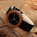 2017 BOBO BIRD Brand Watches Women Waterproof Wood Watches Gifts Natural Red Wooden Watches Quartz relogio