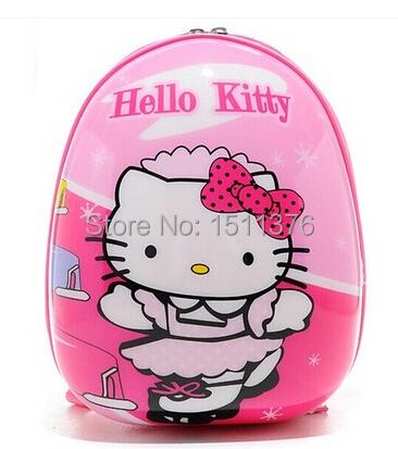 New school bags backpack Children kindergarten shell bags boys and girls mochila infantil hello kitty cartoon hard shell bags