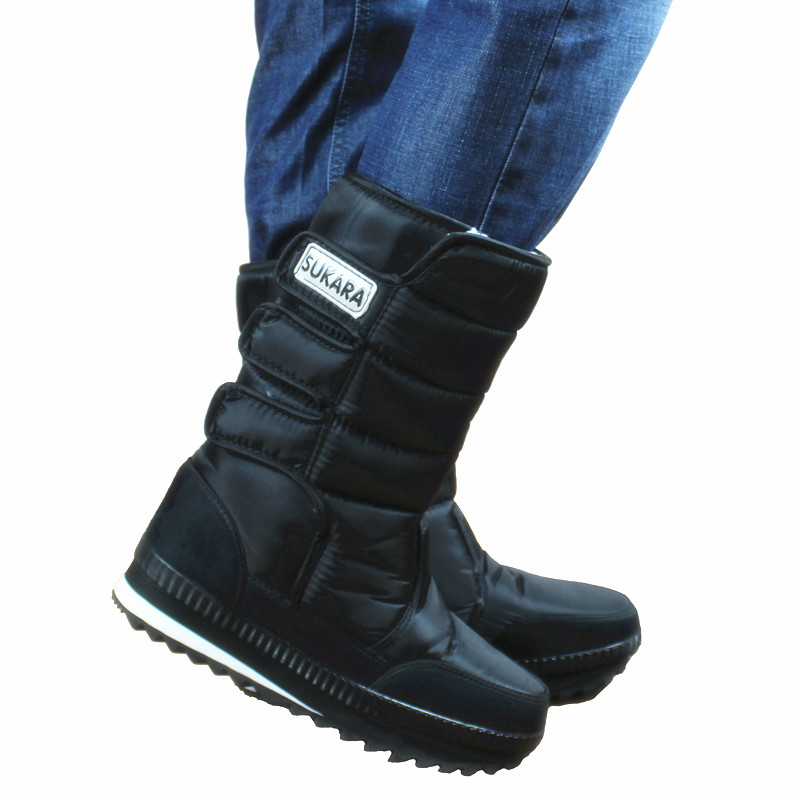 Mens Slip On Waterproof Winter Boots | Homewood Mountain Ski Resort