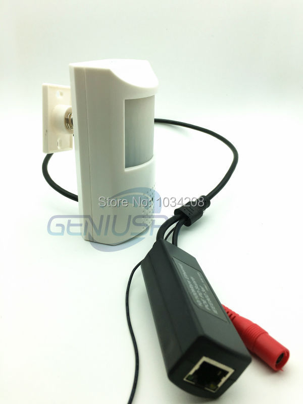 pir poe mini ip camera with sd card function1