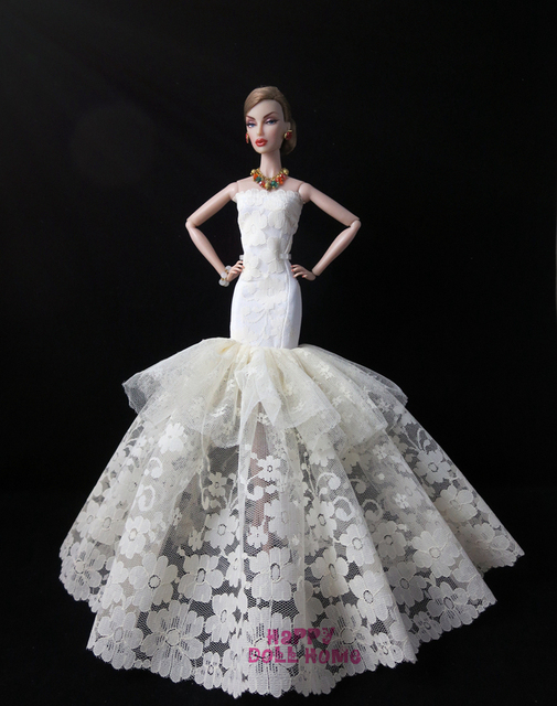 Barbie Doll Dresses Princess Collection Free Shipping